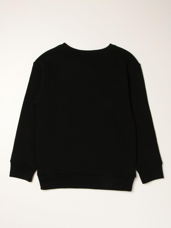 Maglia Gucci: Felpa ICCUG Gucci in cotone con logo nero 2