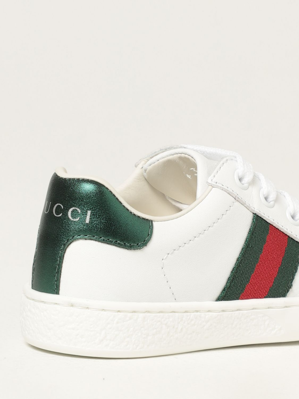 Scarpe Gucci: Sneakers Ace Gucci in pelle bianco 3