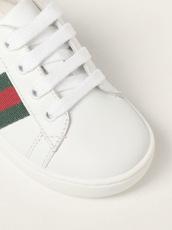 Scarpe Gucci: Sneakers Ace Gucci in pelle bianco 4