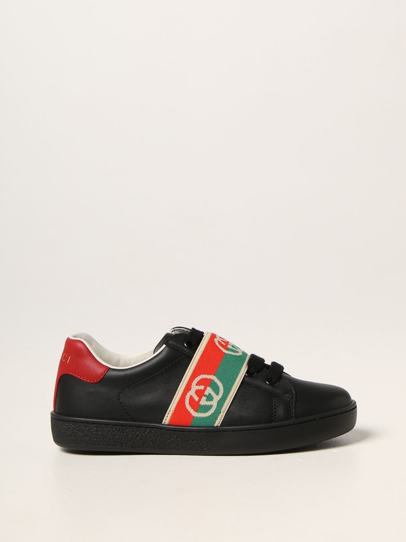 Scarpe Gucci: Sneakers Gucci in pelle nero 1