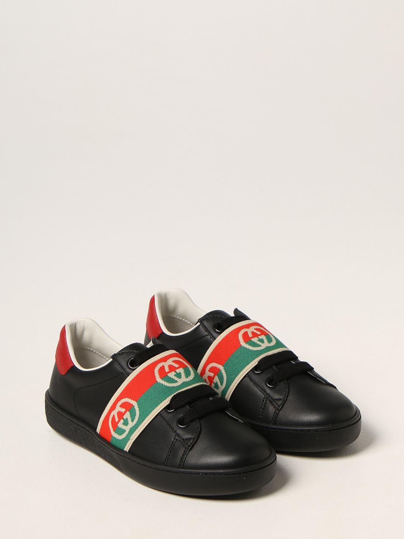 Scarpe Gucci: Sneakers Gucci in pelle nero 2