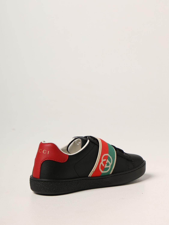 Scarpe Gucci: Sneakers Gucci in pelle nero 3