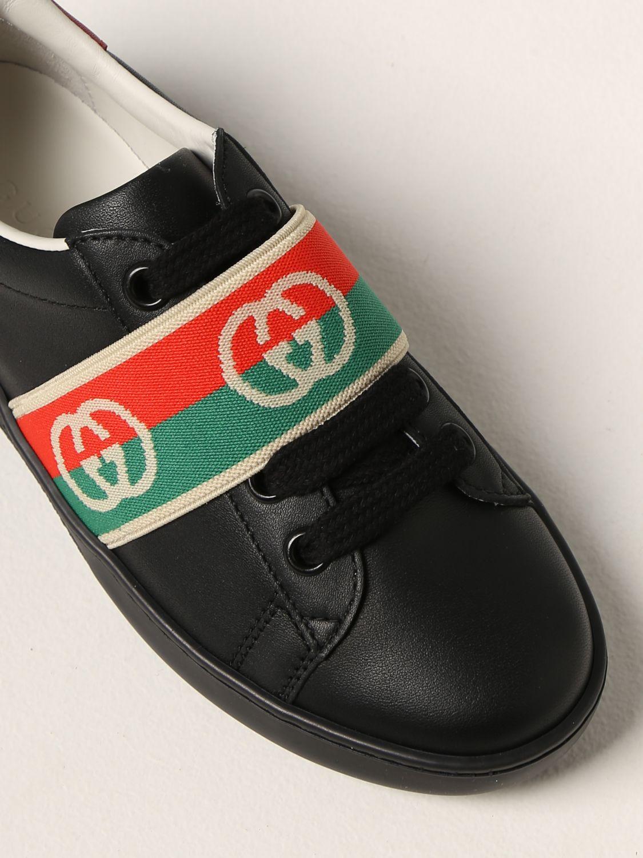 Scarpe Gucci: Sneakers Gucci in pelle nero 4