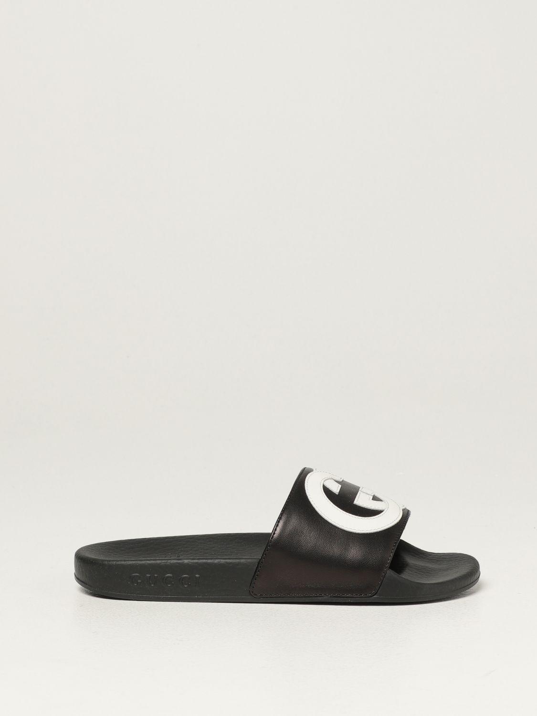 Обувь Gucci: Обувь Детское Gucci черный 1