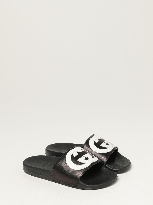 Обувь Gucci: Обувь Детское Gucci черный 2