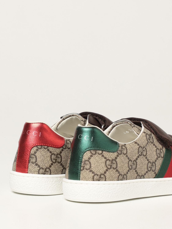Scarpe Gucci: Sneakers Ace Gucci in tessutto GG Supreme beige 3