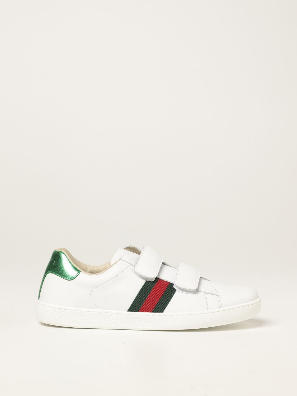 Scarpe Gucci: Sneakers Ace Gucci in pelle bianco 1