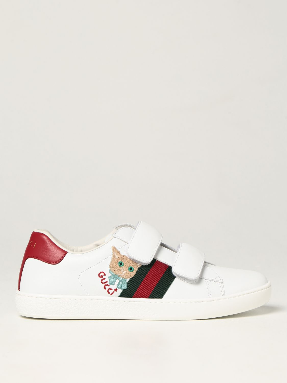 Scarpe Gucci: Sneakers Gucci in pelle bianco 1