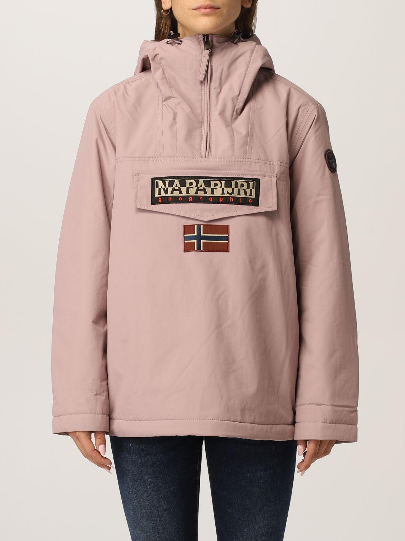 Napapijri Jacket  Women Color Pink