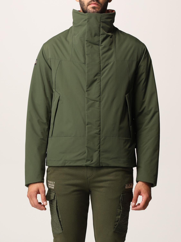 Napapijri Jacket  Men Color Green