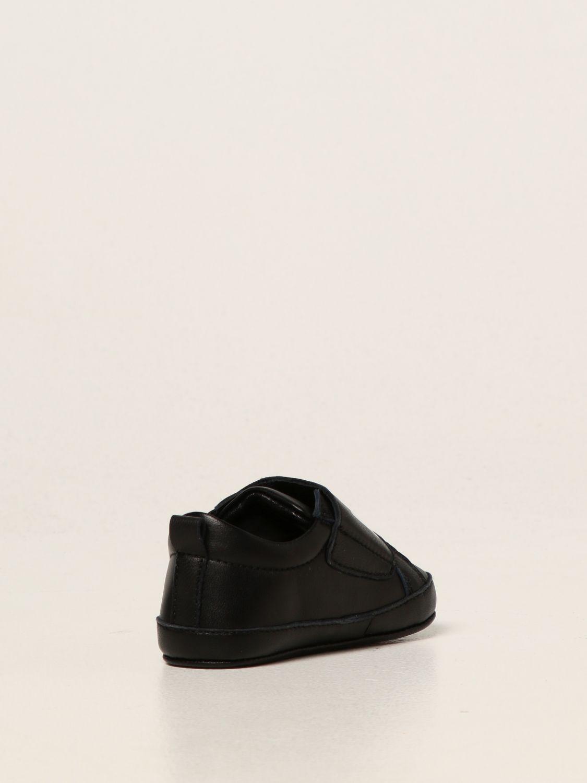 Shoes Dsquared2 Junior: Dsquared2 Junior leather trainers black 3