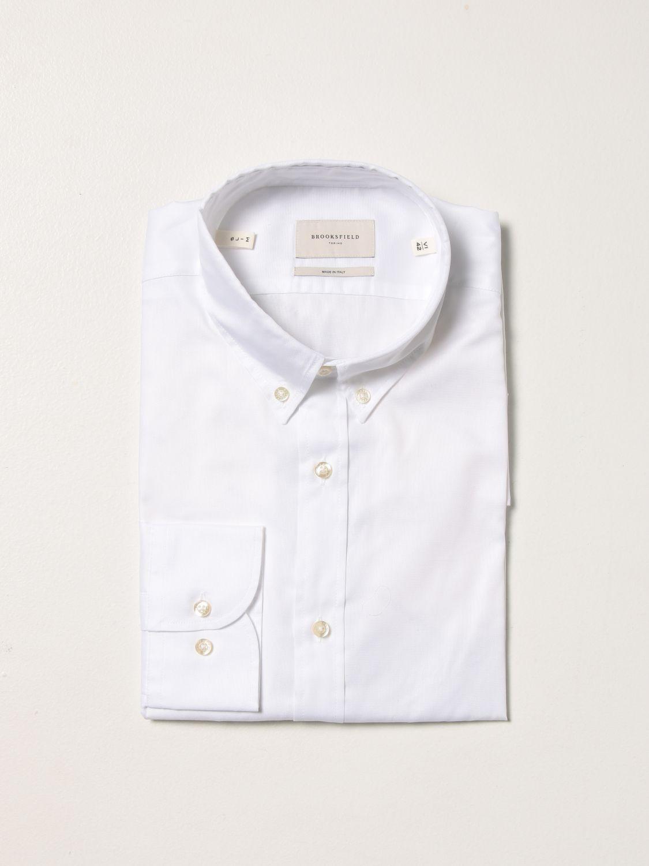 Camisa Brooksfield: Camisa hombre Brooksfield blanco 1