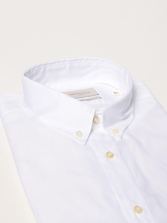 Camisa Brooksfield: Camisa hombre Brooksfield blanco 2