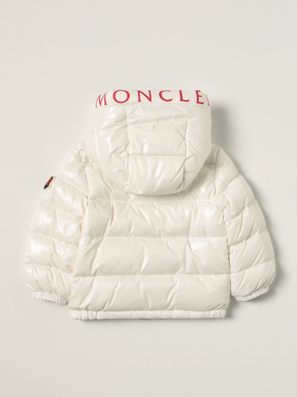 Giacca Moncler: Piumino Salzman Moncler lucido bianco 2