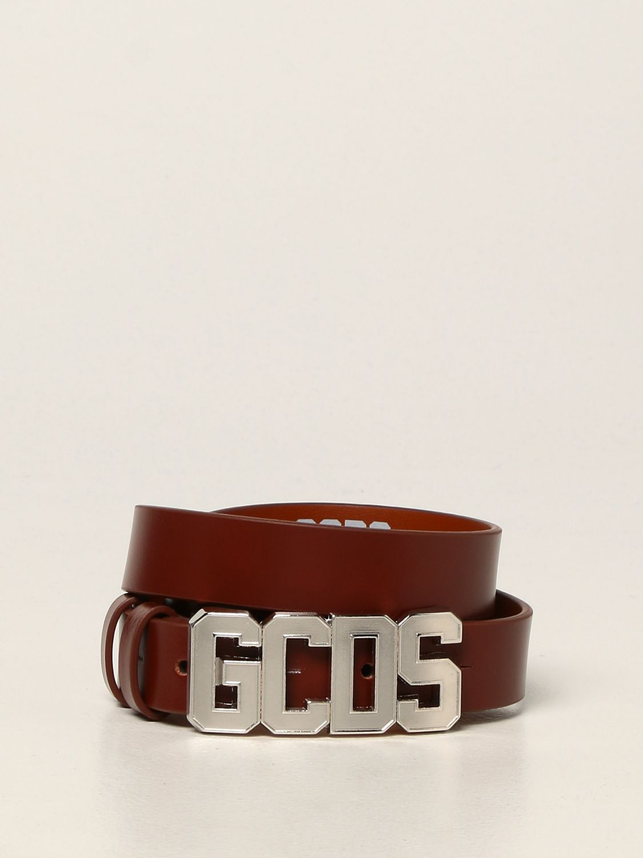 Cintura Gcds: Cintura Gcds in pelle marrone 1