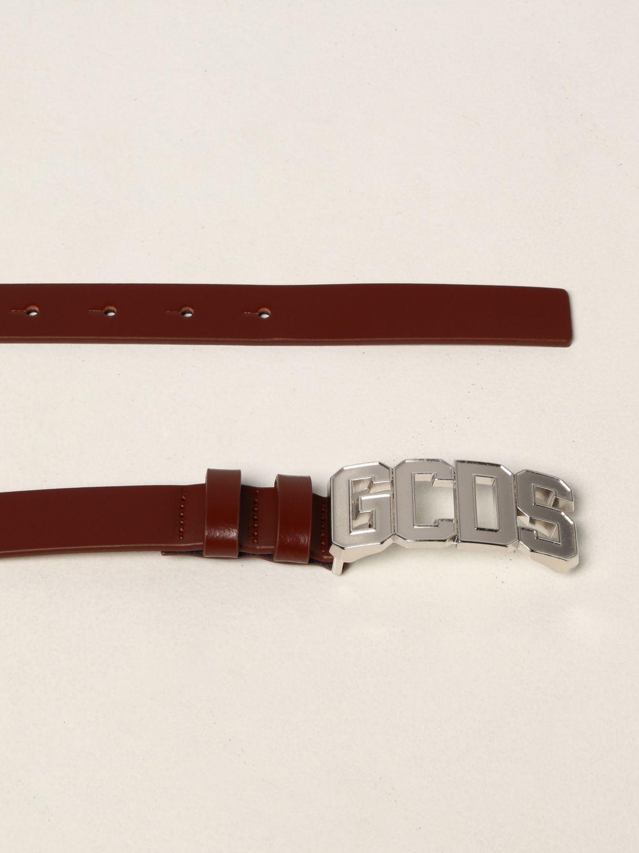 Cintura Gcds: Cintura Gcds in pelle marrone 2