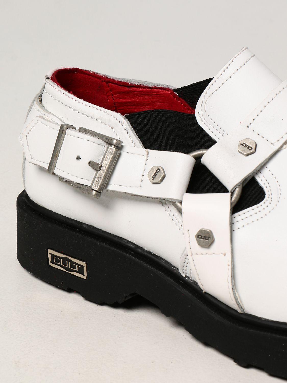 Zapatos Cult Bolt: Zapatos hombre Cult Bolt blanco 4