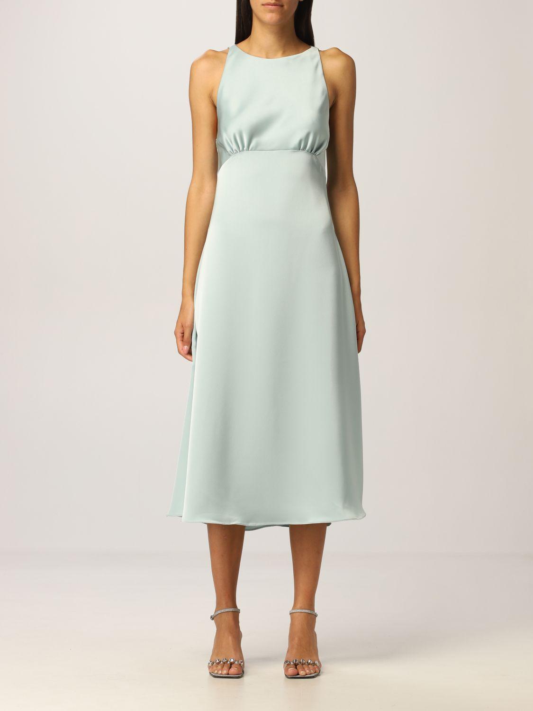 Платье Vanessa Cocchiaro: Платье Женское Vanessa Cocchiaro водная синь 1