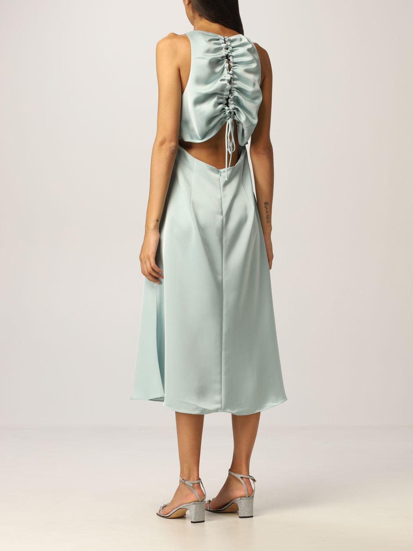 Платье Vanessa Cocchiaro: Платье Женское Vanessa Cocchiaro водная синь 2