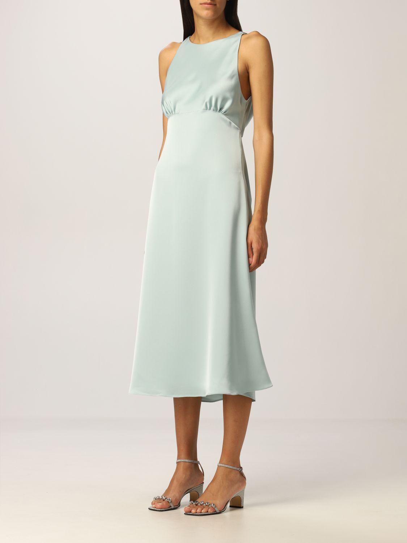 Платье Vanessa Cocchiaro: Платье Женское Vanessa Cocchiaro водная синь 3