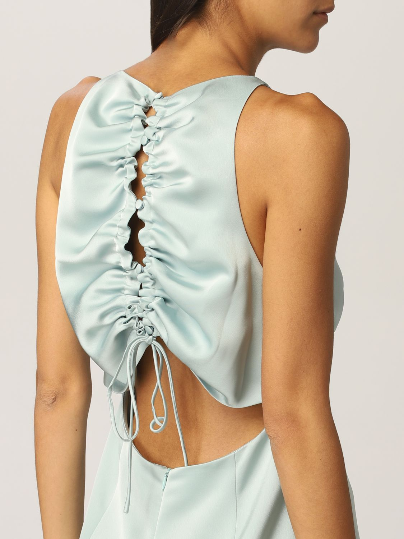 Платье Vanessa Cocchiaro: Платье Женское Vanessa Cocchiaro водная синь 4