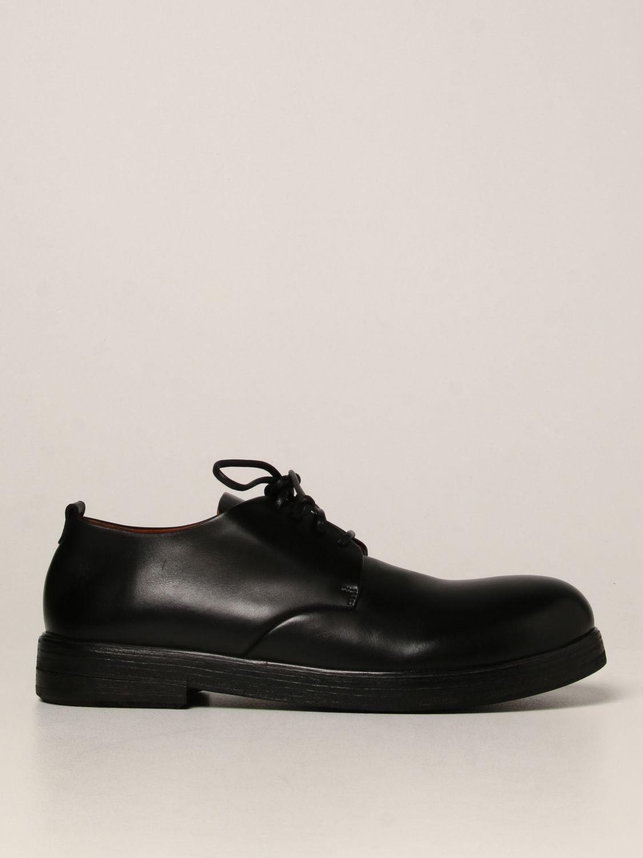 Zapatos de cordones Marsell: Zapatos hombre Marsell negro 1