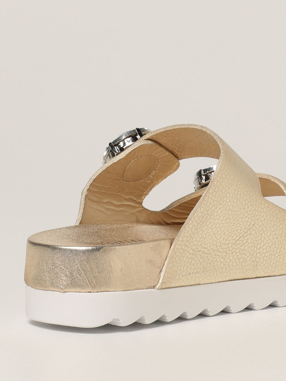 Sandalias planas Inspiration Concrete: Zapatos mujer Inspiration Concrete platino 3