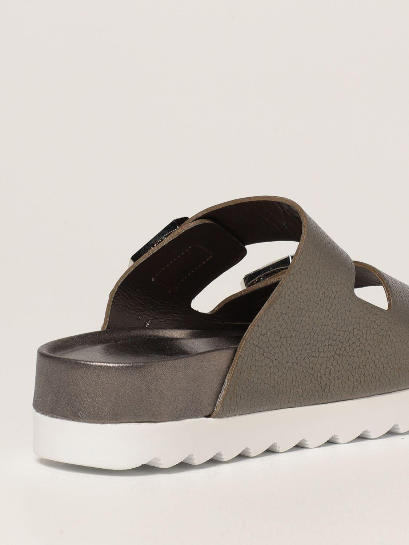 Sandalias planas Inspiration Concrete: Zapatos mujer Inspiration Concrete acero 3