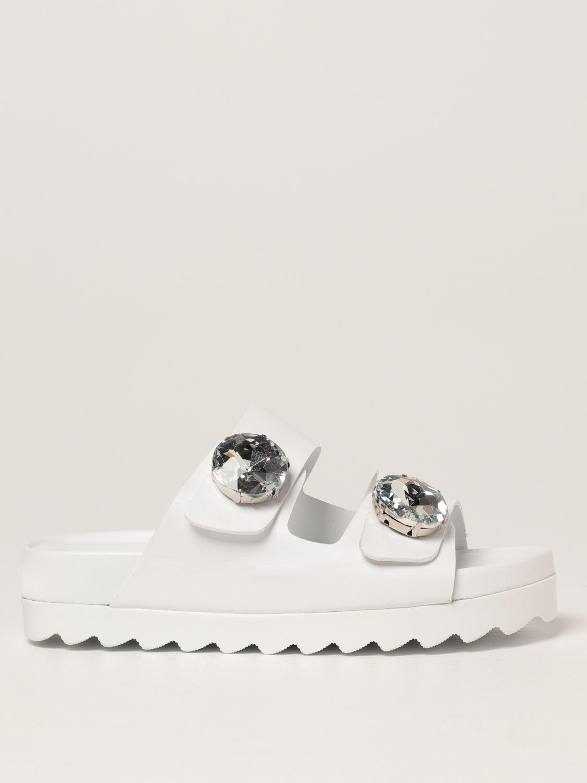 Sandalias planas Inspiration Concrete: Zapatos mujer Inspiration Concrete blanco 1