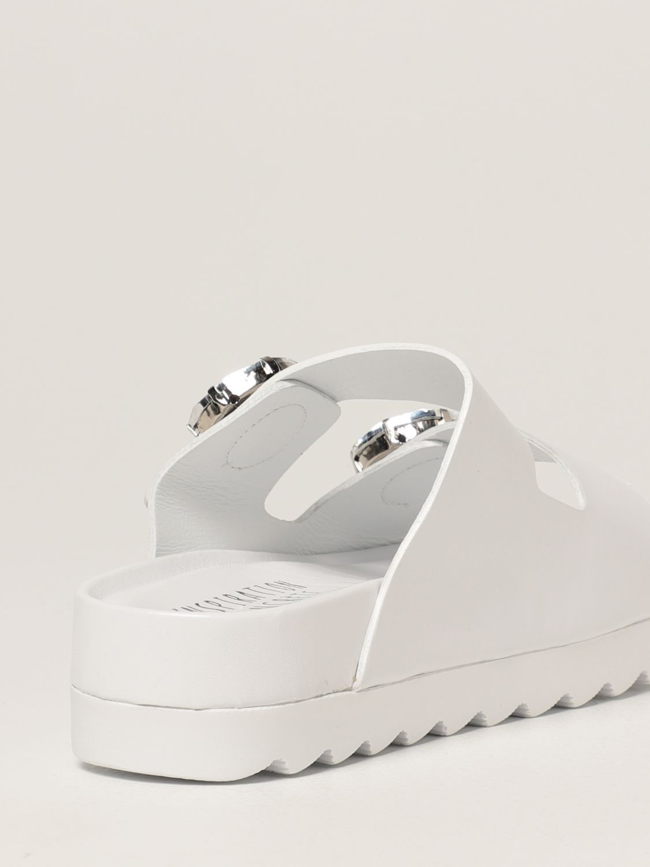 Sandalias planas Inspiration Concrete: Zapatos mujer Inspiration Concrete blanco 3