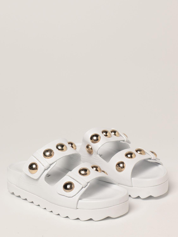 Sandalias planas Inspiration Concrete: Zapatos mujer Inspiration Concrete blanco 2