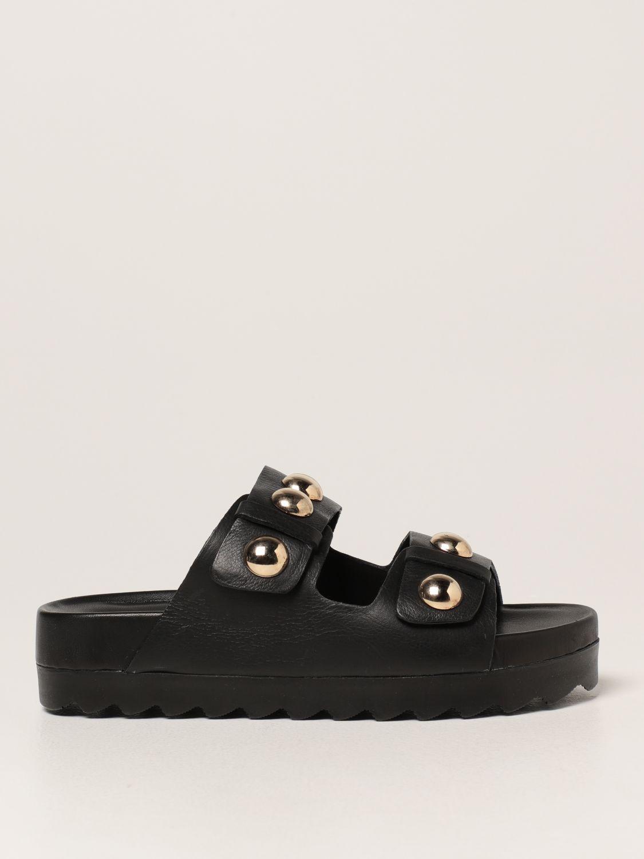 Sandalias planas Inspiration Concrete: Zapatos mujer Inspiration Concrete negro 1