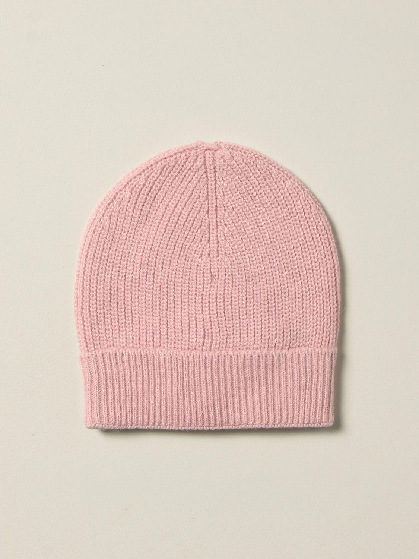 Hat girl Msgm Kids: Msgm Kids hat with logo pink 2