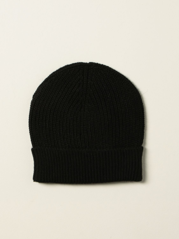 Hat Msgm Kids: Msgm Kids hat with logo black 2