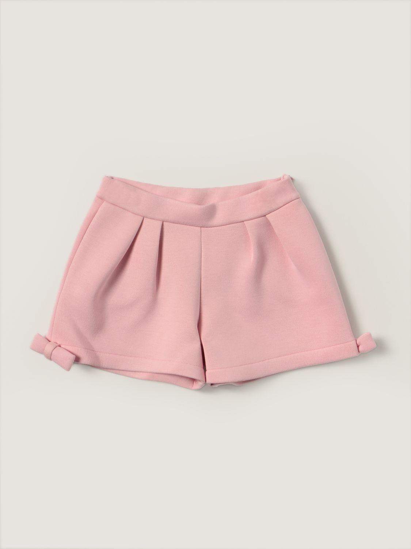 Short Simonetta: Simonetta shorts with bow pink 1