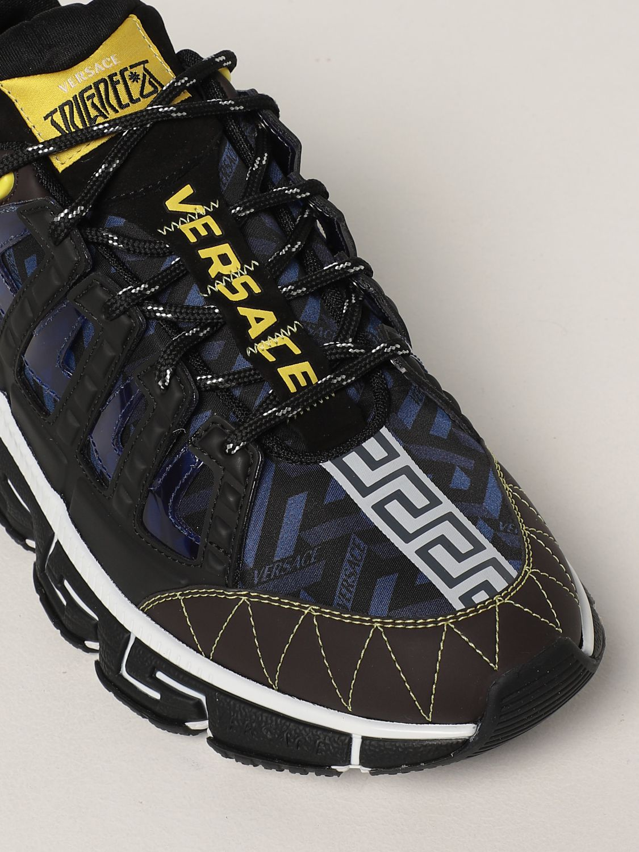 Sneakers Versace: Sneakers Trigreca Versace in nylon moro 4