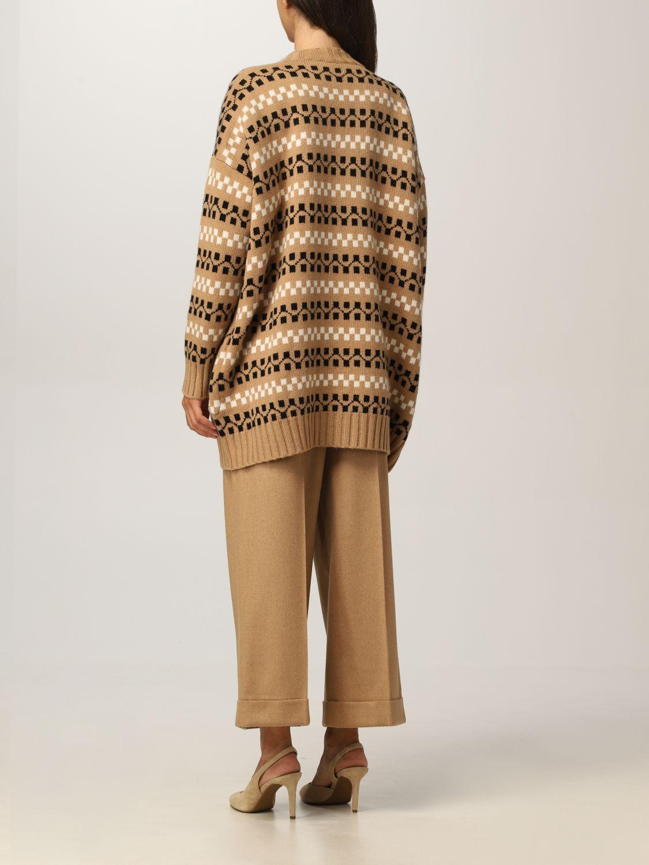 Cardigan Max Mara: Cardigan Max Mara in cashmere e lana cammello 3
