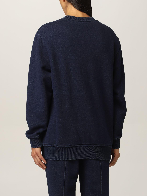 Sweatshirt Athleisure Alberta Ferretti: Sweatshirt damen Athleisure Alberta Ferretti denim 3