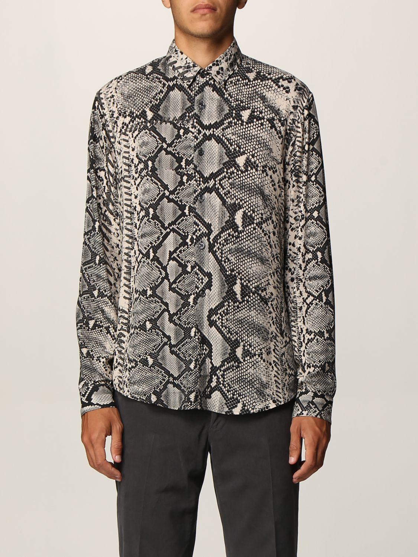 Camisa Just Cavalli: Camisa hombre Just Cavalli negro 1