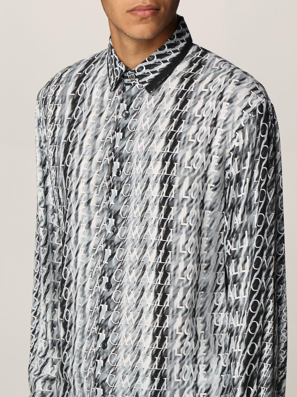 Camisa Just Cavalli: Camisa hombre Just Cavalli negro 3