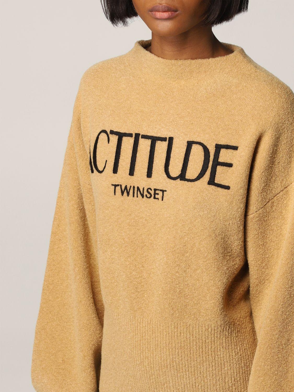 毛衣 Actitude Twinset: 毛衣 女士 Actitude Twinset 驼色 3