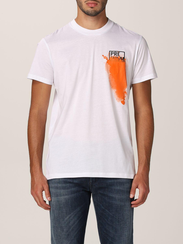 T-shirt Pmds: T-shirt homme Pmds blanc 1