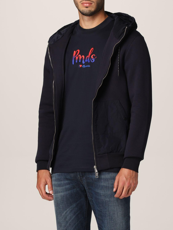 Sweatshirt Pmds: Sweatshirt homme Pmds bleu 3