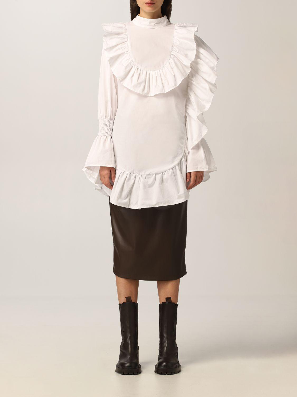 Top Tpn: Hemdbluse damen Tpn weiß 1