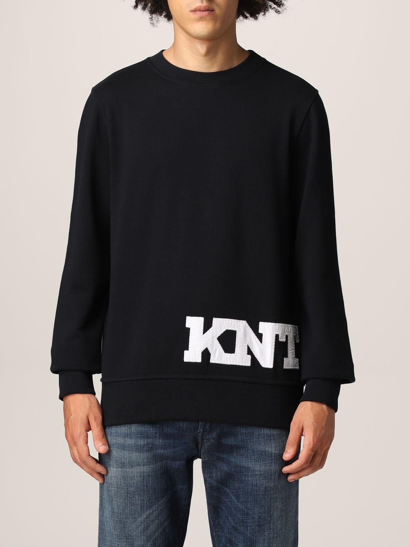 Sweatshirt Knt: Sweater men Knt blue 1