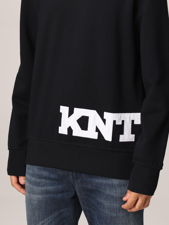Sweatshirt Knt: Sweater men Knt blue 3