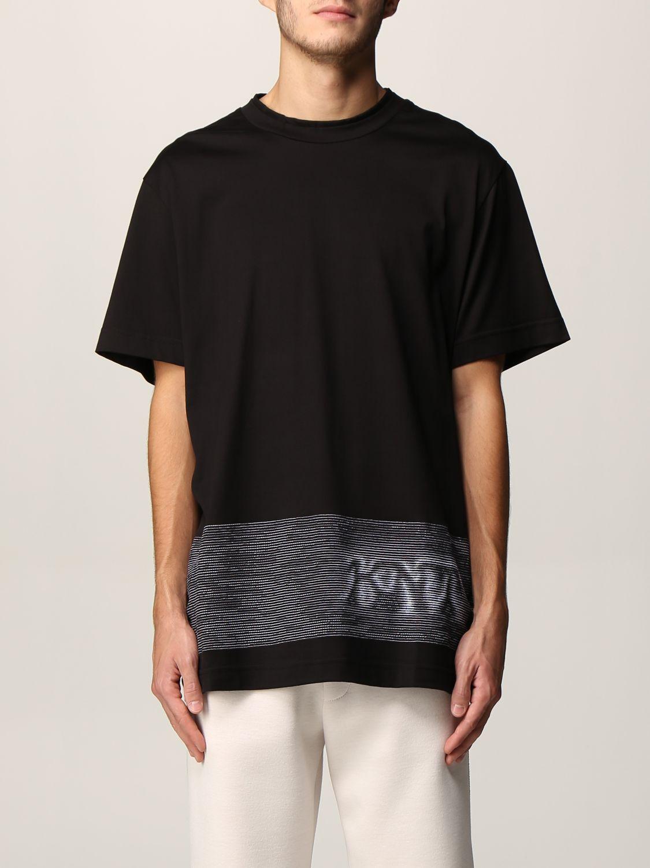 T-shirt Knt: T-shirt men Knt black 1