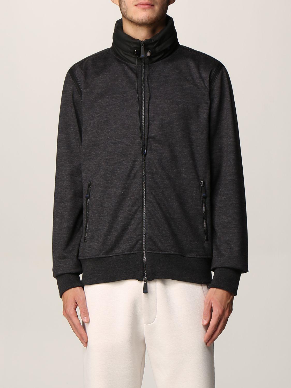 Sweatshirt Knt: Sweatshirt men Knt black 1