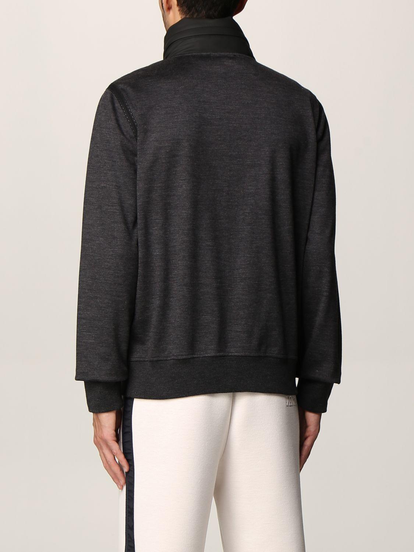 Sweatshirt Knt: Sweatshirt men Knt black 2