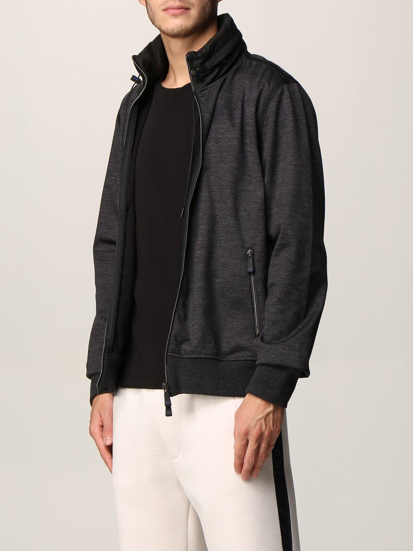 Sweatshirt Knt: Sweatshirt men Knt black 3